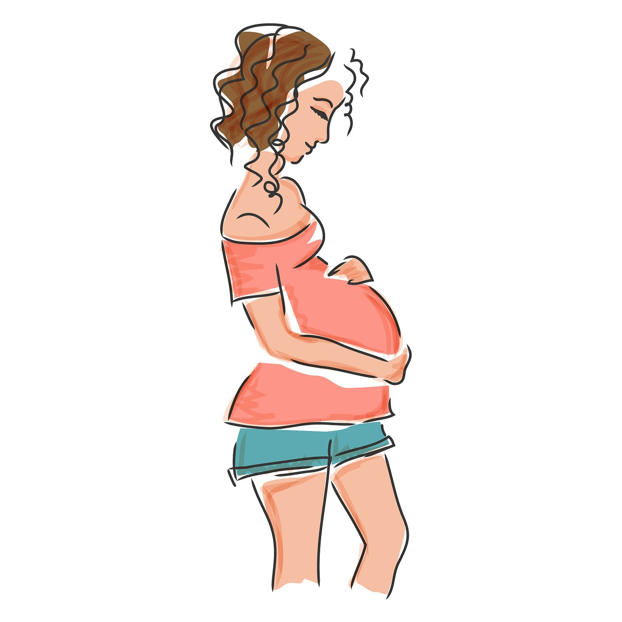wpływ kawy na ciążę